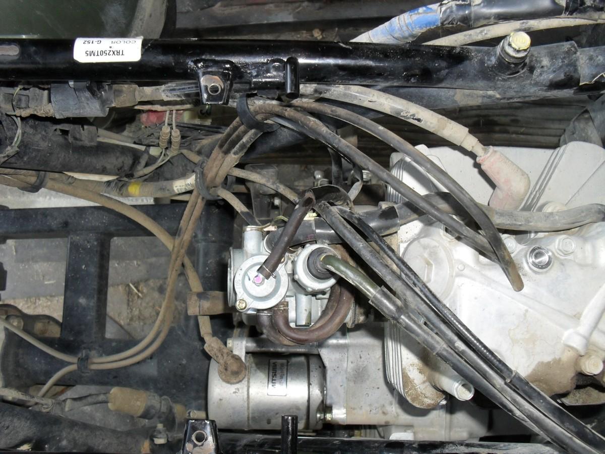 Honda Recon 250 Carburetor Diagram | Carb Life On 2 Wheels Other Stuff