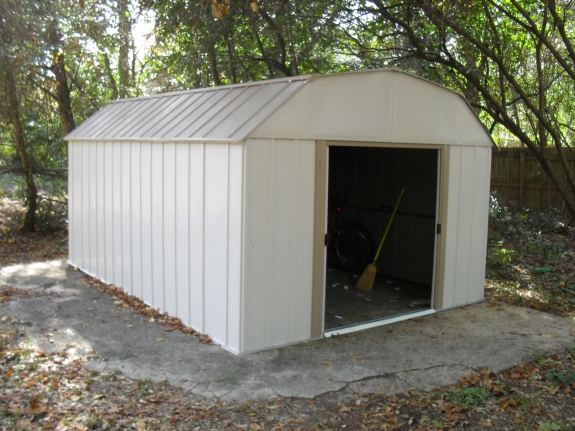 Lowes 10 x 12 arrow shed learn how shedolla for Garden shed 12x10