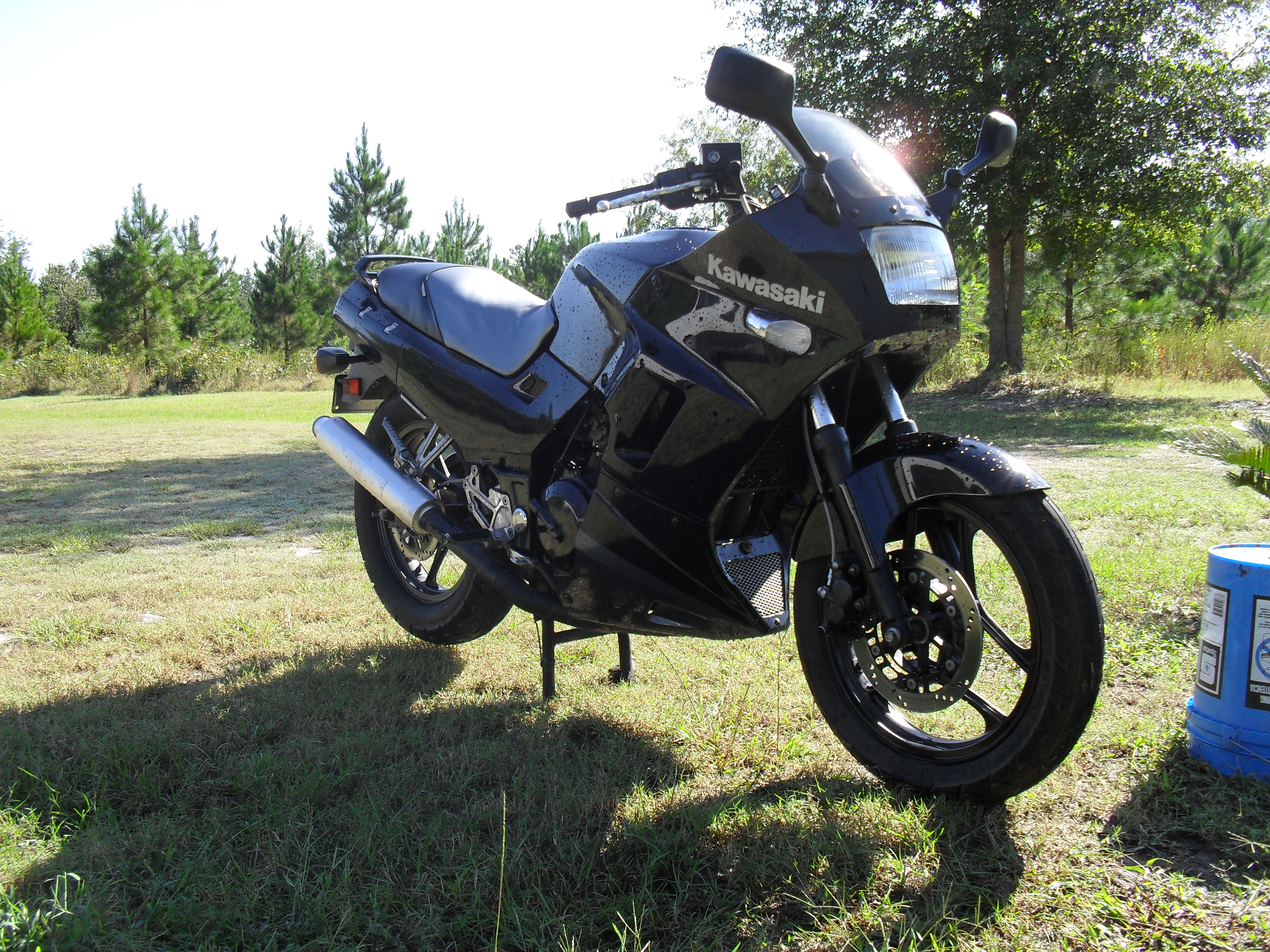 1993 Kawasaki Ninja EX250. '