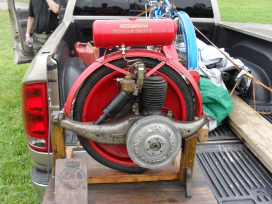 Briggs and Stratton motor wheel