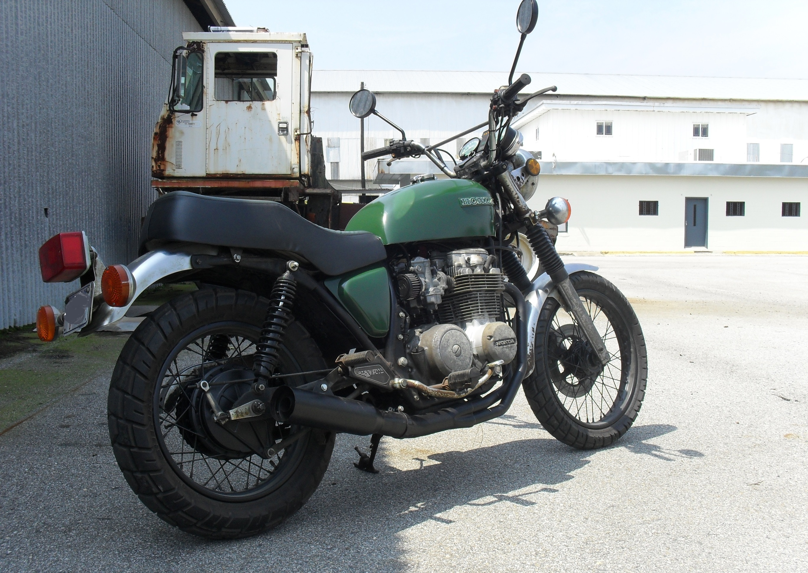 Cb650 Life On 2 Wheels Other Stuff Cb650c Wiring Diagram 1980 Honda With 1974 Cb750 Gas Tank A Set Of 1979 Standard