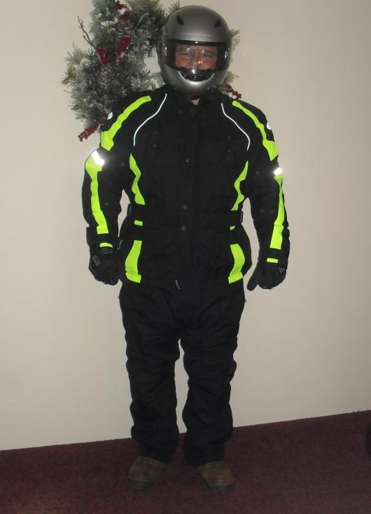 <Joe Rocket textile suit>